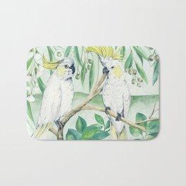 Saffron Cockatoo Bath Mat