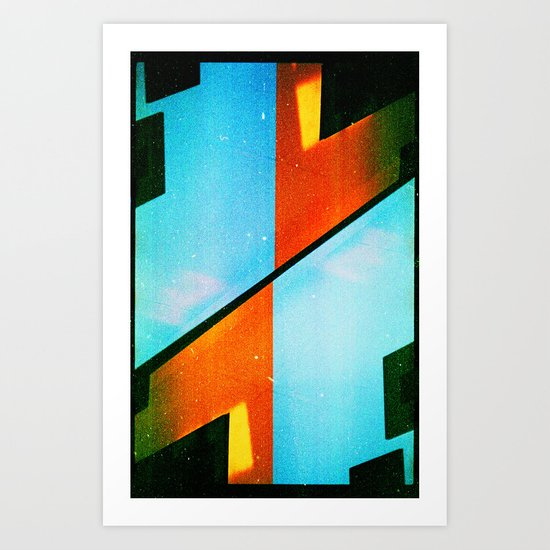 #5 (35mm multiple exposure) Art Print