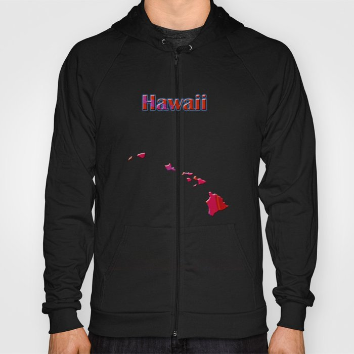 Hawaii Map Hoody