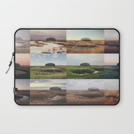 the clump through the seasons Laptop Sleeve