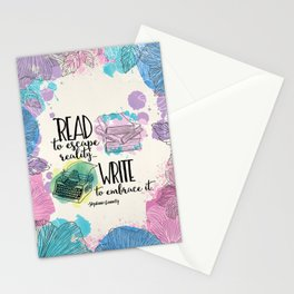 Write to Embrace design Stationery Cards