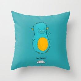 Furrrynutnuts Throw Pillow