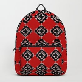 Native ethnic pattern Backpack