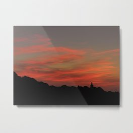 Colors of the Clouds Metal Print
