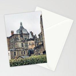 Greyfriars Kirkyard - Candlemakers row in Edinburgh, Scotland Stationery Cards