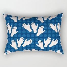 Waving Hands Rectangular Pillow