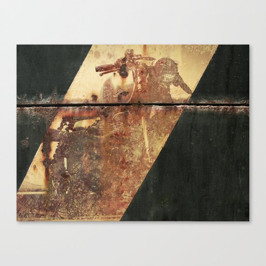 Ghost Speed Canvas Print