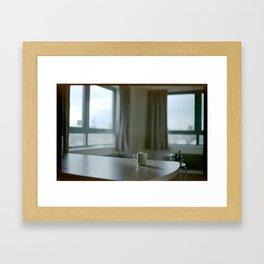 coffe in London Framed Art Print