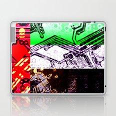 circuit board united arab emirates (flag) Laptop & iPad Skin