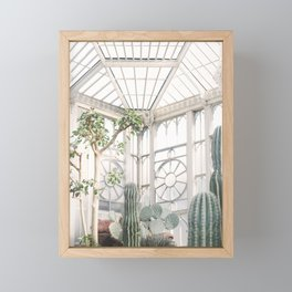Greenhouse Framed Mini Art Print