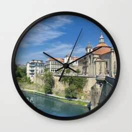 Amarante, Portugal Wall Clock