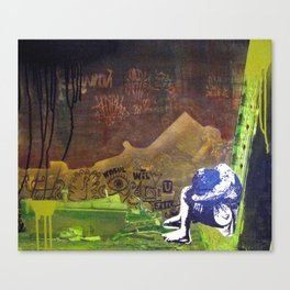 All Alone Canvas Print