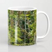 jungle Mugs featuring Jungle by Mauricio Santana
