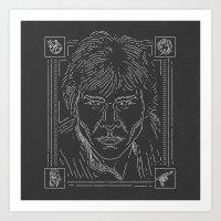 han solo Art Prints featuring Han Solo by Jon Deviny