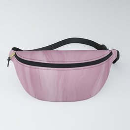 Marblesque Rose Pink 1 - Abstract Art Marble Series Fanny Pack