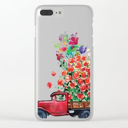 Truck of Love Clear iPhone Case