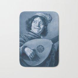 "Frans Hals ""The Lute Player"" Bath Mat"