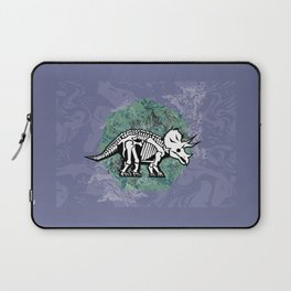 Triceratops Fossil Laptop Sleeve
