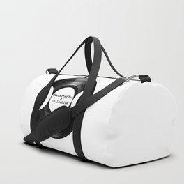 Music Goddess - HourAfterOur Logo Duffle Bag