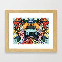 Basic. Framed Art Print