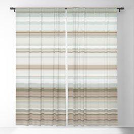 Classic stripes pattern Blackout Curtain