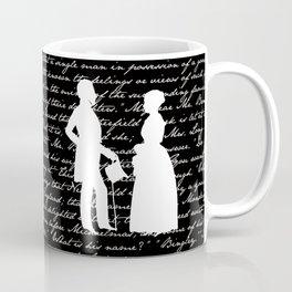 Pride and Prejudice design Coffee Mug