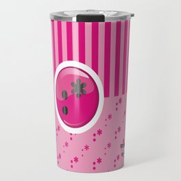 Pink Writer's Mood Travel Mug