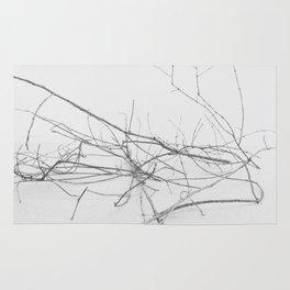 Dark Trees 2 Rug
