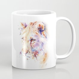 Patience . Lion Coffee Mug