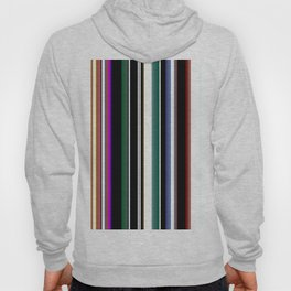 Bold colorful stripes Hoody