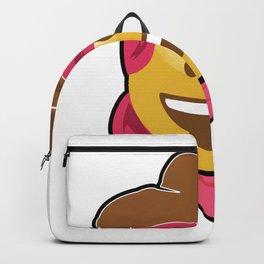 cowgirl emoji front smiling halloween costume Backpack