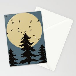 Moon story Stationery Cards