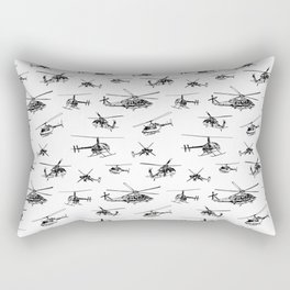 Helicopters Rectangular Pillow