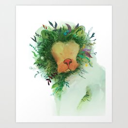 Jungle King Art Print
