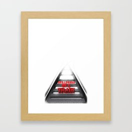 Strangers on a Train Framed Art Print