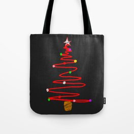 Blackboard Tree Tote Bag
