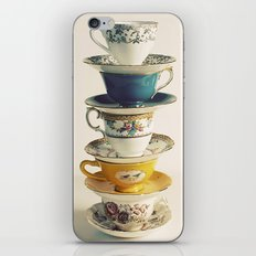 teacups iPhone & iPod Skin