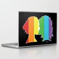 lesbian Laptop & iPad Skins featuring Lesbian Love  by Winter Graphics