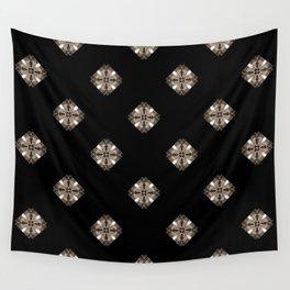 Simulated illuminated diamond pattern Wall Tapestry