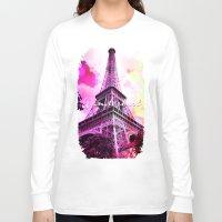 wanderlust Long Sleeve T-shirts featuring Wanderlust by Berberism