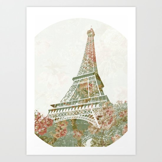 Flower Tower Art Print