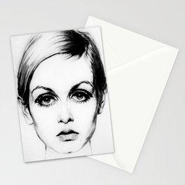 60's Eyelashes Stationery Cards