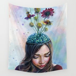 Pollination Wall Tapestry