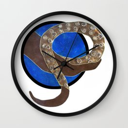 Creature of Water (porthole edit) Wall Clock