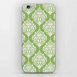 Green Damask iPhone Skin