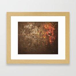 Devil Inside of Me Framed Art Print