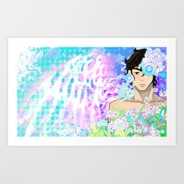 Angel Boy Art Print