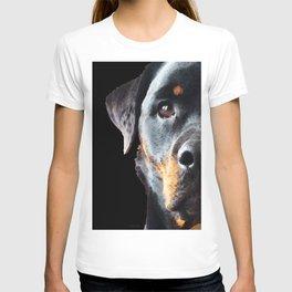 Rottie Love - Rottweiler Art By Sharon Cummings T-shirt