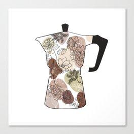 coffee maker Canvas Print