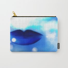 Blue Kisses Carry-All Pouch